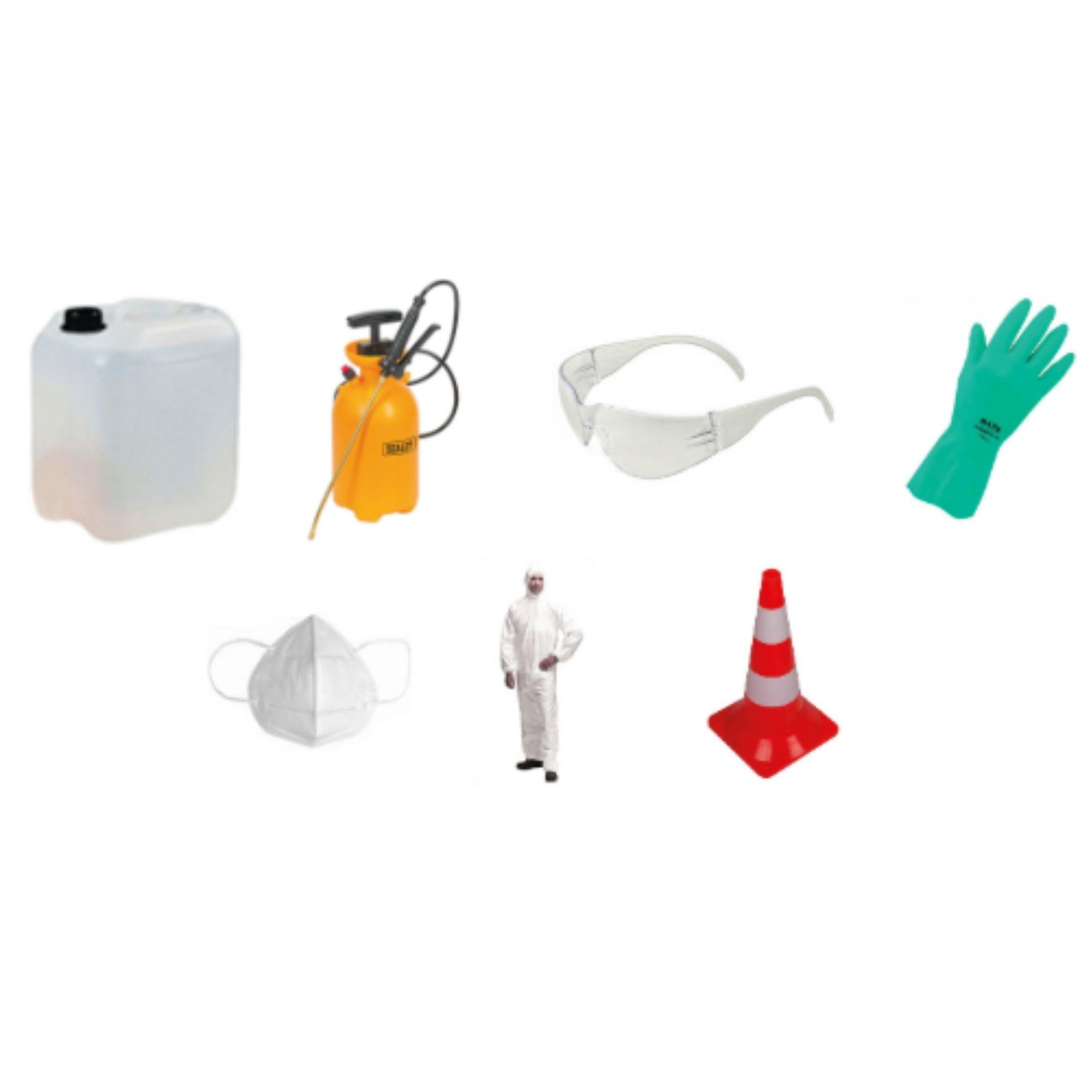 Kits de Limpeza e Desinfeção