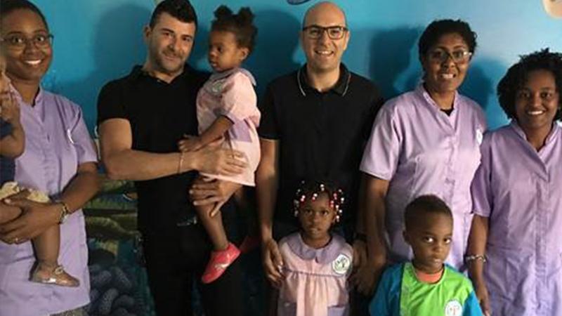 Sintimex solidária em Cabo Verde