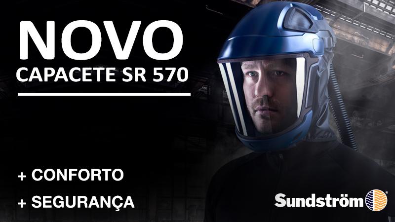 Novo capacete SR 570