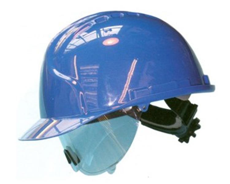 Capacete JSP MK7 c/Rolete e Viseira Retractil, Ventil.