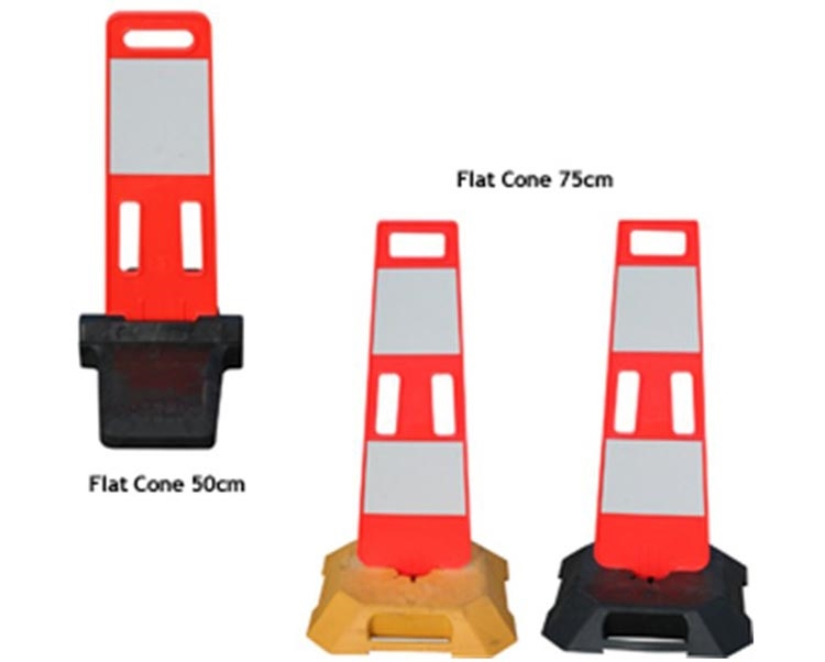 Flat Cone com Base Preta