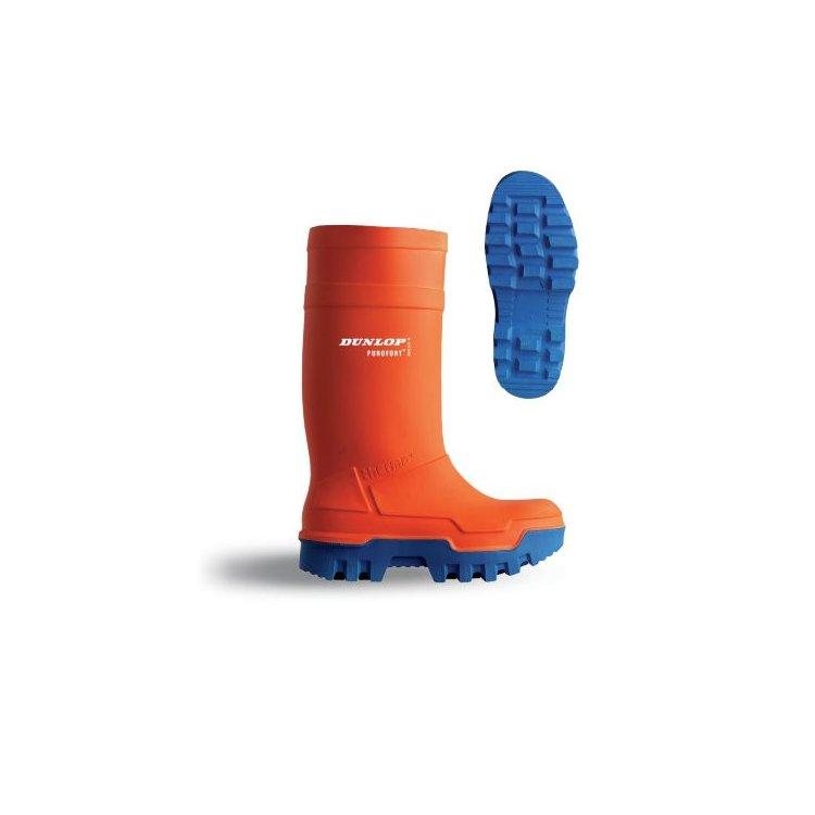 Botas Dunlop Purofort Thermo+ Safety C661343 (Lar/Azu)