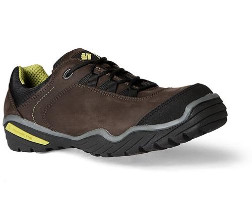 Sapatos ToWorkFor Panda Brown Nubuck Leather S3