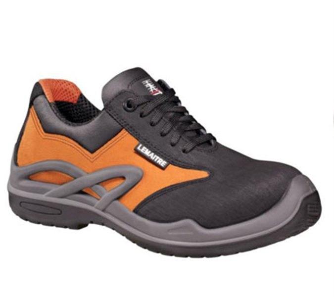 Sapatos Lemaitre Royan Laranja
