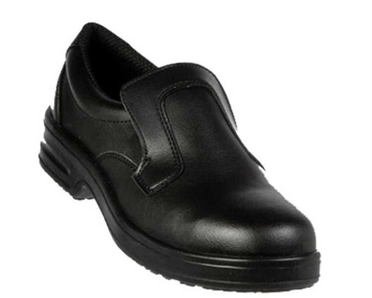 Sapato Safe Way com Pala Preto P323