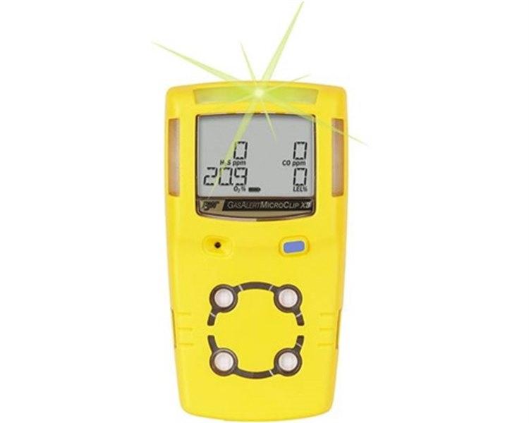 Detetor de Gases BW MicroClip X3-H2S/CO/O2/LIE