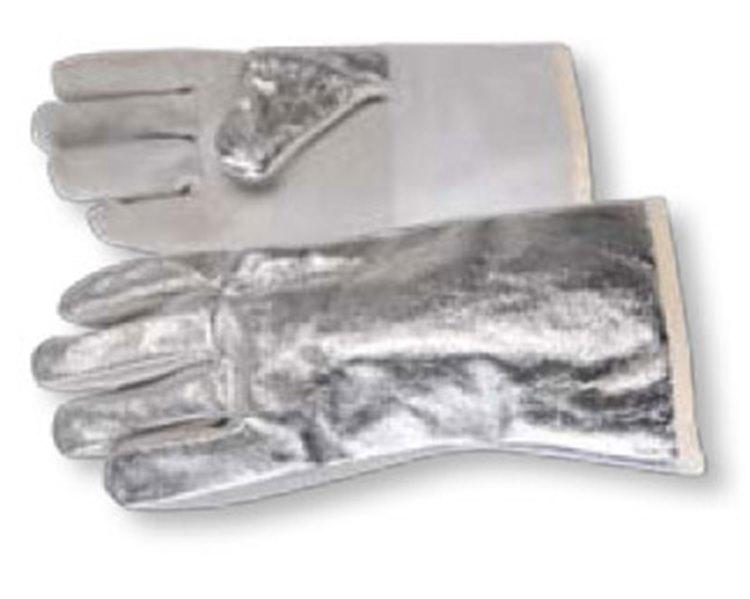 Luva 5 Dedos 03K - 38cm. Fibra Aramida Aluminizada