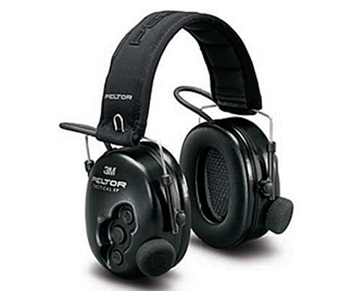 Prot. Auricular 3M Tactical XP c/Conexão J11 MT1H7P3E2-07