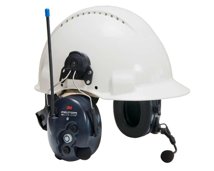 Prot. Auricular Litecom III Ad.Capacete PMR446 Mhz Dinâmico